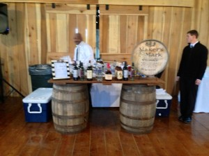 the bourbon bar by Dupree Catering