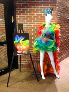 These fabulous pieces were designed by fashion designer Maui Crane.