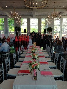 First dance and head table