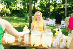 lemonade at ceremony